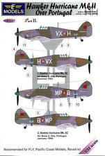 LF Models Decals 1/32 HAWKER HURRICANE Mk.II OVER PORTUGAL Part 2