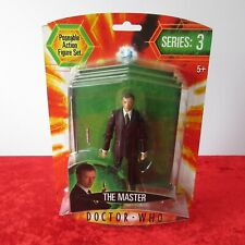 DOCTOR WHO (DR) - The Master Action Figure With Sonic Screwdriver Series 3 (NEW)