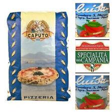 """Farina Caputo""""00″Pizzeria Blu kg 25+ 2Barattoli Pomodoro Solea da 400gr"""