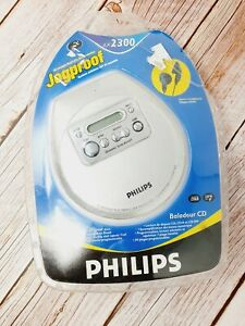 Philips AX2300 Personal Portable Jogproof CD Player - New Sealed