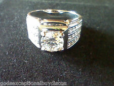 8 + Gift When Signed Up In Store! Mens Womens Lcs Diamond Wedding Band Ring Sz
