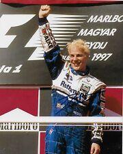 Autographed Formula 1 driver Jacques Villeneuve signed 8x10 Photo 9