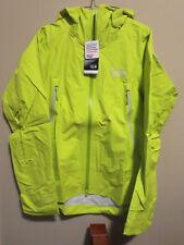 Mens New Mountain Hardwear Quasar Lite Jacket Sz Small Color Fresh Bud