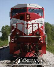 Indiana Rail Road SD90/43MAC Sturdy Metal Sign Logo Photo