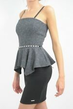 RINASCIMENTO Italy - Luxury pencil peplum dress with belt M / uk 10