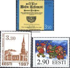 Estland 311,312,313 (kompl.Ausg.) postfrisch 1997 Sondermarken