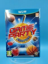 jeu video neuf nintendo WII U games party champions