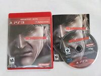 Metal Gear Solid 4: Guns of the Patriots (Sony PlayStation 3) COMPLETE & TESTED