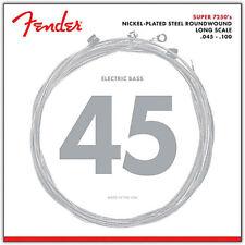 Fender 7250 Bass Strings Nickel Plated Steel Long Scale 7250ML 45-100