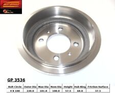Brake Drum Rear Best Brake GP3536