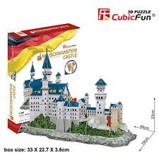CubicFun 3D Puzzle MC062H Neuschwanstein Castle,World Famous Building Jigsaws