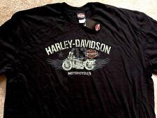 Harley Davidson Iconic WLA Black Shirt NWT Men's Large