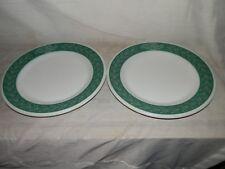 "Vintage,Corning Decor Dinner Ware 712-9,Flower & Leaf,9 1/4"",Dinner Plate (2)"