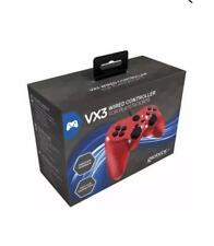 Genuine Gioteck VX3 Wired Playstation 3 PS3 Controller Red  BRAND NEW