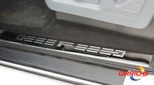 Ford F-250/350 Crew Cab 2008-2016 Polished Stainless Steel Door Sill Covers