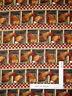 "Farm Chicken Rooster Egg Bird Nest Cotton Fabric CP38152 2 Pcs (14"" & 14"")"