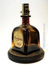 Don Julio Reposado Tequila Liquor Bottle Bar TABLE LAMP Light with Wood Base