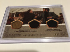 Cryptozoic Outlander Season 4 triple Wardrobe card TM03 Brianna/Roger #007/150