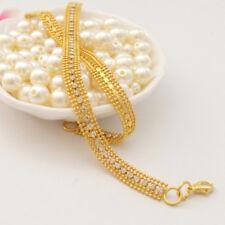 Fantastic Jewelry 14K Yellow Gold Filled   Soft Bracelet Chain Free Ship Jewelry