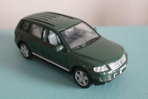 "Welly 6"" VOLKSWAGEN TOUAREG Diecast Toy Car 1/32 VW Used Dark GREEN"