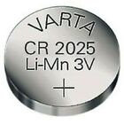 Knopfzelle Varta CR2025 neu