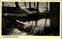 HEDENDORF b. Buxtehude AK um 1940/50 Mühlenbach Partie Foto-Verlag H. Lühmann