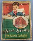 Rare Antique 1917 M.W. Savage Send to Savage Catalog 31 Minneapolis Advertising