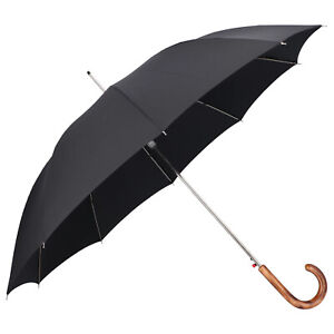 Knirps Long Automatic Umbrella Black