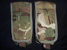 2x British Army Osprey MK4 SA80 2 Mag / Double Magazine Pouch - MTP -Super Grd 1