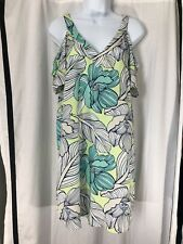 All For Color Cold Shoulder Floral Print Dress Size Small NWT