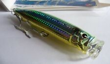 Noeby leurre Popper 15cm 54,5g nage surface couleur custom jaune holo