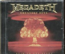 MEGADETH GREATEST HITS - BACK TO THE START - CD