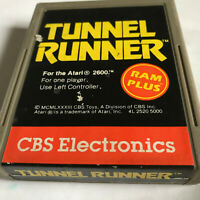 Tunnel Runner / Cart Only / Atari 2600 / Tested & Working / 7800