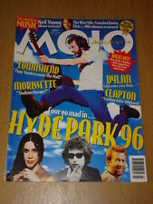 MOJO 1996 JULY WHO TOWNSHEND DYLAN CLAPTON NEIL YOUNG