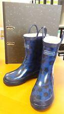 Regenstiefel Kinder / Junge blau mit Fußbällen Regatta Gr. 38 / UK 5