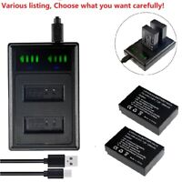 LP-E12 Battery or Charger For Canon EOS M SL1 EOS M50 Mirrorless Digital Camera