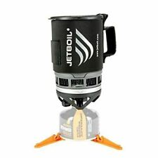 Jetboil Zip Camping Stove Cooking System - Carbon - Compact & Efficient