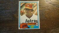 1981 TOPPS # 411 TERRY PUHL   BASEBALL CARD