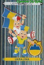 397 Official Mascot - Ukrajina UKRAINE STICKER EURO 2012 PANINI