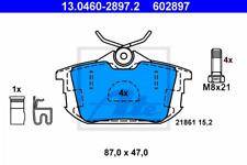 Bremsbelagsatz, Scheibenbremse für Bremsanlage Hinterachse ATE 13.0460-2897.2