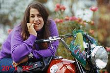 "Mama Cass~Norton~Motorcycle~Mamas & The Papas~Biker~Garage~Photo~Poster~20""x30"""