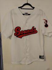 Men's MILB Nashville Sounds home baseball jersey Medium white OT Sports