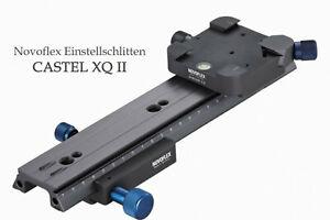 NOVOFLEX PROFI Einstellschlitten CASTEL XQ II  - Aussteller - * Fachhändler *