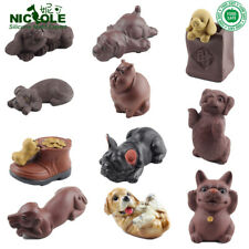 11 Type 3D Dog Puppy Mold Repeated Usage Silicone Handmade Soap Resin Decoration