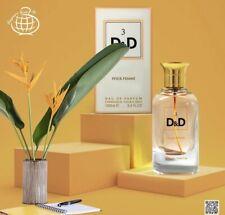 D&D 3 EDP Perfume By Fragrance World 100 ML: 🥇Hot New Fragrance🥇