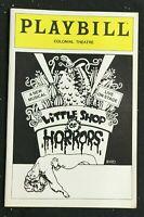 BROADWAY PLAYBILL - July 1984 - LITTLE SHOP OF HORRORS - Original Cast   b1