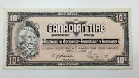 1974 Canadian Tire 10 Ten Cents CTC-S4-C-UN Circulated Money Banknote E144