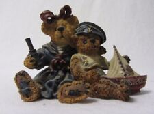 Boyds Bears Bearstone Collection Elvira & Chauncey Fitzbruin Shipmates Figurine