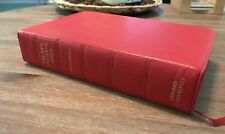 RARE Oxford Cambridge New English Bible NEB Goatskin Leather Red Apocrypha 1970