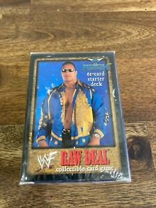 WWF Raw Deal Premiere Edition Sealed Starter Deck - The Rock